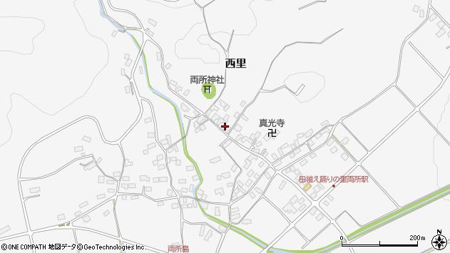 山形県西村山郡河北町西里2030周辺の地図