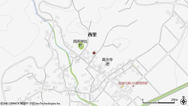 山形県西村山郡河北町西里2123周辺の地図