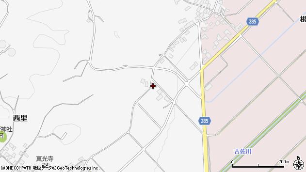 山形県西村山郡河北町西里1679周辺の地図