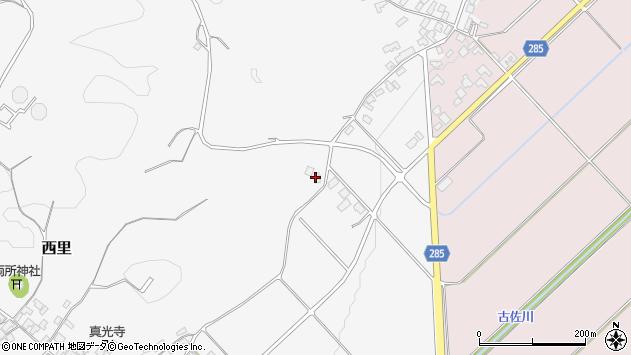 山形県西村山郡河北町西里1627周辺の地図