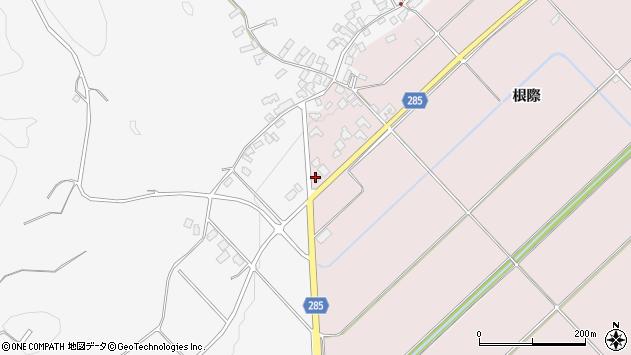 山形県西村山郡河北町谷地根際124周辺の地図