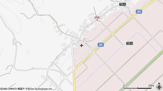 山形県西村山郡河北町谷地根際119周辺の地図
