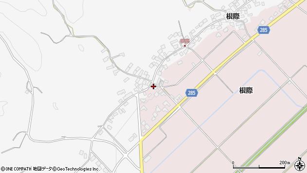 山形県西村山郡河北町谷地庚1193周辺の地図