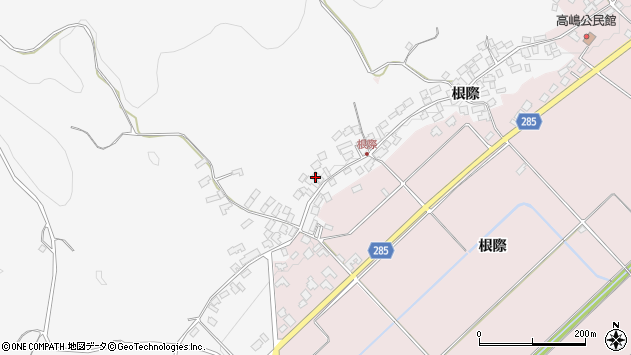 山形県西村山郡河北町西里1727周辺の地図