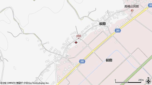山形県西村山郡河北町西里1967周辺の地図