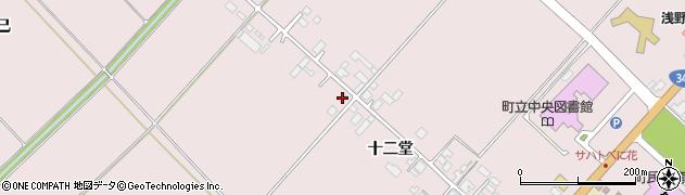 山形県西村山郡河北町谷地十二堂238周辺の地図