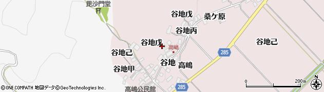 山形県西村山郡河北町谷地戊925周辺の地図
