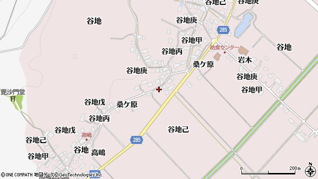 山形県西村山郡河北町谷地己717周辺の地図