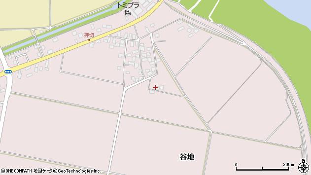 山形県西村山郡河北町谷地東1347周辺の地図