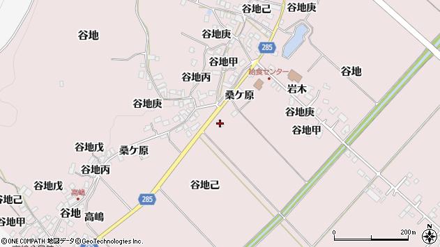 山形県西村山郡河北町谷地桑ケ原1994周辺の地図
