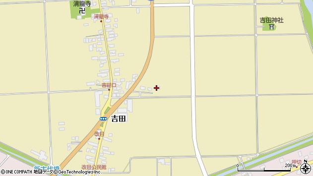 山形県西村山郡河北町吉田860周辺の地図