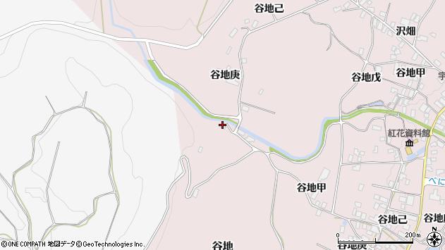 山形県西村山郡河北町谷地戊1122周辺の地図