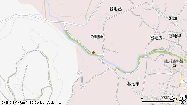 山形県西村山郡河北町谷地戊1127周辺の地図