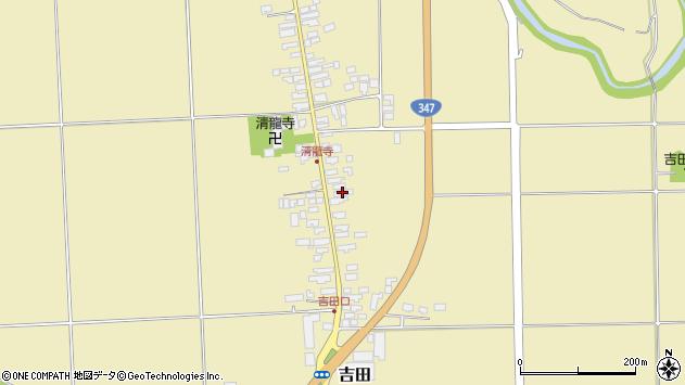 山形県西村山郡河北町吉田107周辺の地図