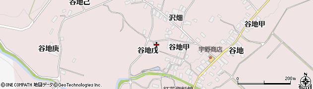山形県西村山郡河北町谷地戊1207周辺の地図