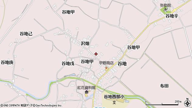山形県西村山郡河北町谷地戊1260周辺の地図