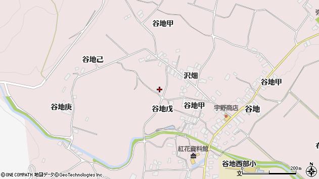 山形県西村山郡河北町谷地戊1233周辺の地図