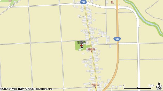 山形県西村山郡河北町吉田1608周辺の地図