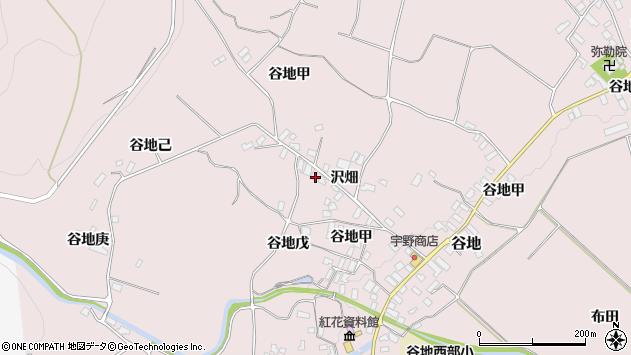 山形県西村山郡河北町谷地乙1137周辺の地図