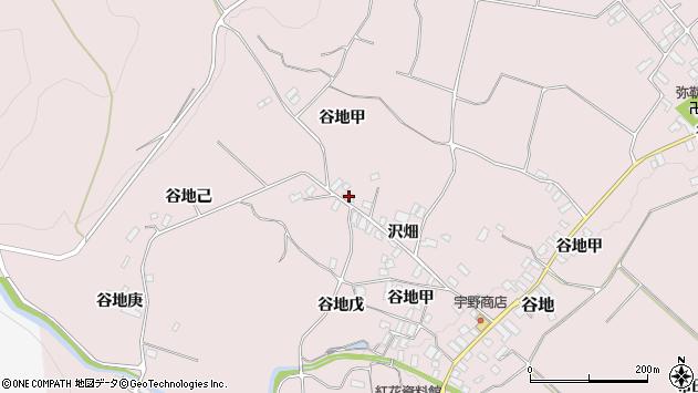 山形県西村山郡河北町谷地戊1248周辺の地図