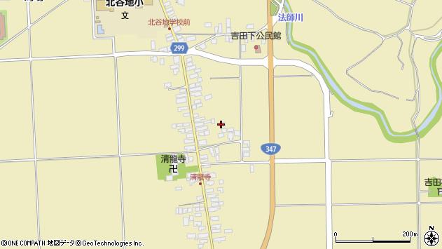山形県西村山郡河北町吉田170周辺の地図