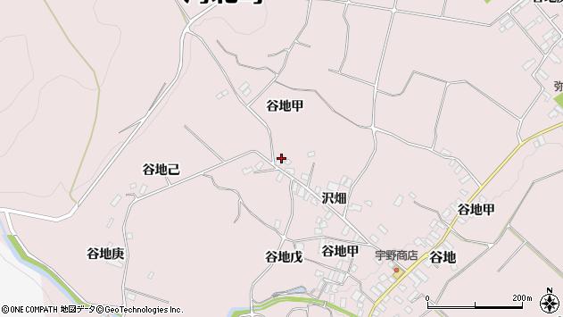 山形県西村山郡河北町谷地甲2223周辺の地図