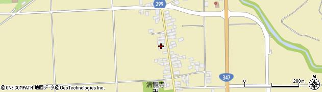 山形県西村山郡河北町吉田54周辺の地図
