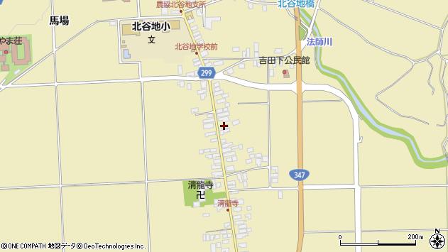 山形県西村山郡河北町吉田81周辺の地図
