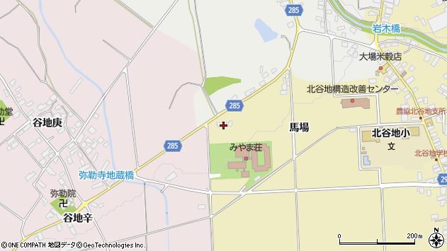 山形県西村山郡河北町吉田馬場8周辺の地図