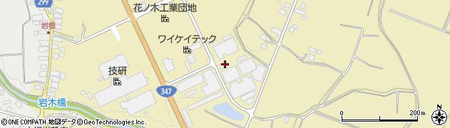 山形県西村山郡河北町吉田花ノ木周辺の地図