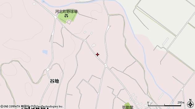 山形県西村山郡河北町谷地庚1040周辺の地図