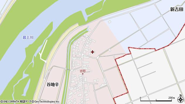 山形県西村山郡河北町谷地辛2137周辺の地図