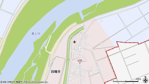 山形県西村山郡河北町谷地辛2113周辺の地図