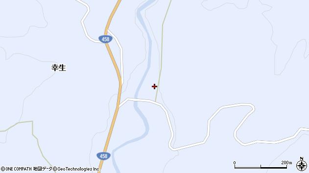 山形県寒河江市幸生394周辺の地図