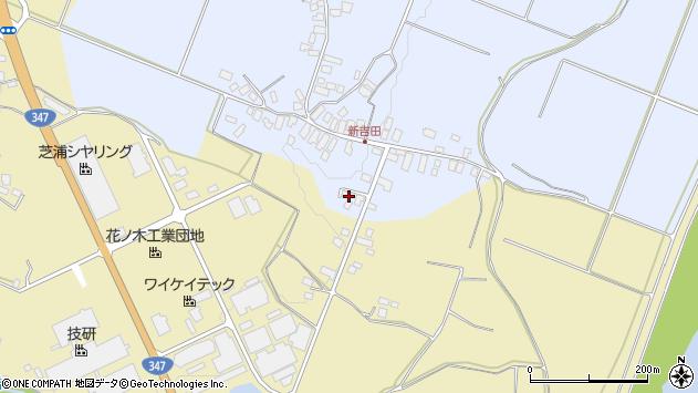 山形県西村山郡河北町新吉田18周辺の地図