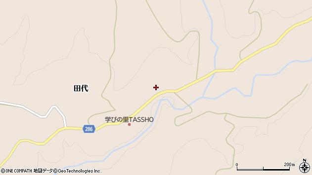 山形県寒河江市田代439周辺の地図