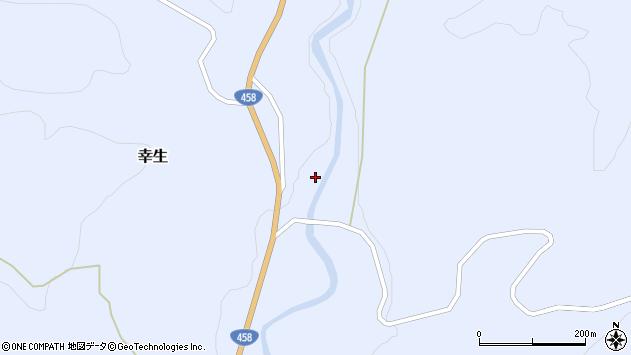 山形県寒河江市幸生540周辺の地図
