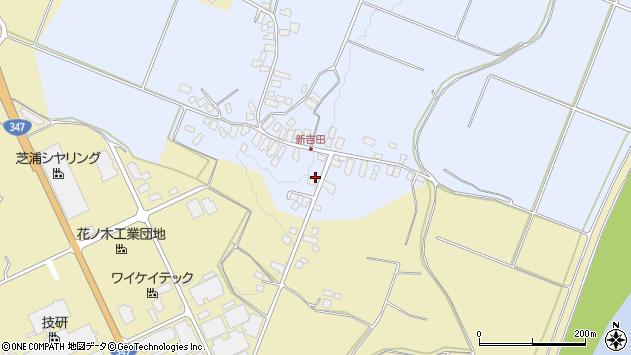 山形県西村山郡河北町新吉田120周辺の地図