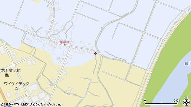 山形県西村山郡河北町新吉田29周辺の地図