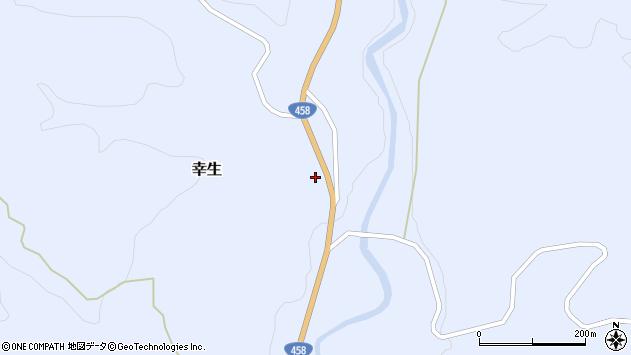 山形県寒河江市幸生ミナミ478周辺の地図