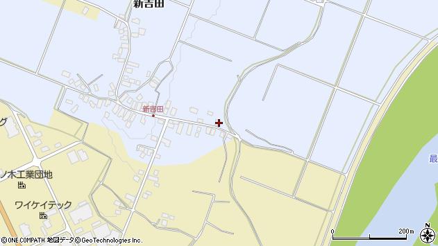 山形県西村山郡河北町新吉田156周辺の地図