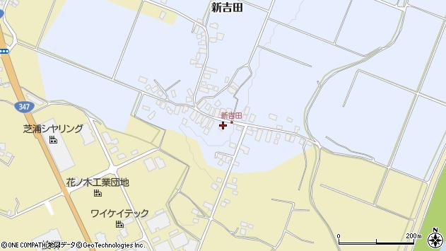 山形県西村山郡河北町新吉田19周辺の地図