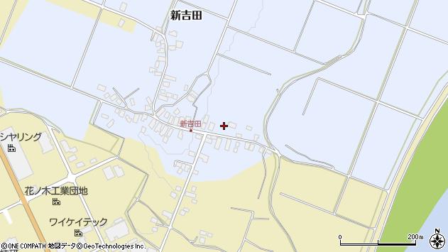 山形県西村山郡河北町新吉田2周辺の地図