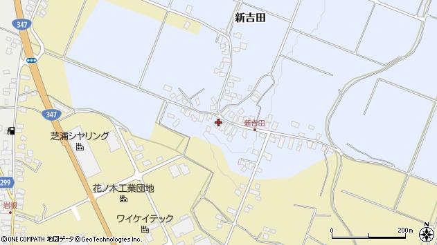 山形県西村山郡河北町新吉田12周辺の地図