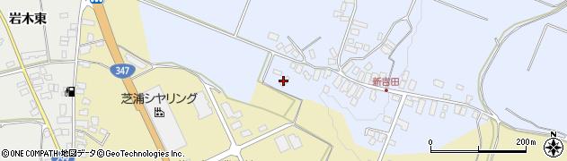 山形県西村山郡河北町新吉田137周辺の地図