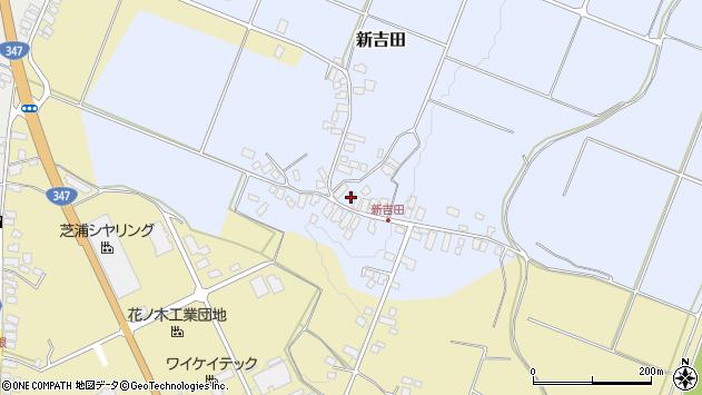 山形県西村山郡河北町新吉田9周辺の地図