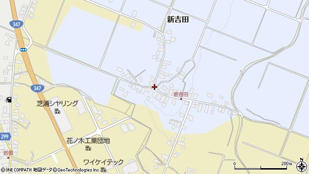 山形県西村山郡河北町新吉田773周辺の地図