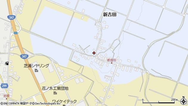 山形県西村山郡河北町新吉田73周辺の地図