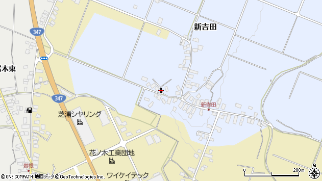 山形県西村山郡河北町新吉田783周辺の地図