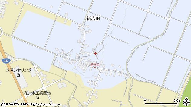 山形県西村山郡河北町新吉田145周辺の地図